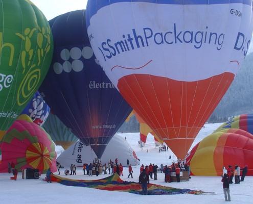 Vol montgolfière Yves Degravel Organisation
