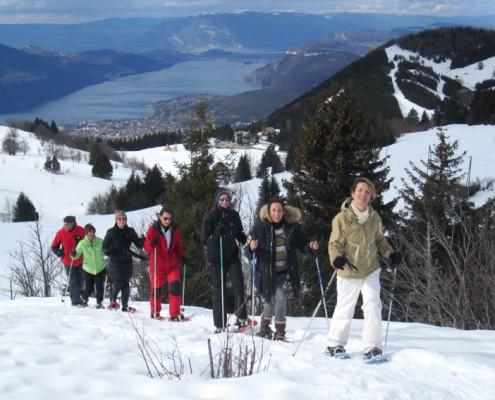 Raquettes à neige Yves Degravel Organisation