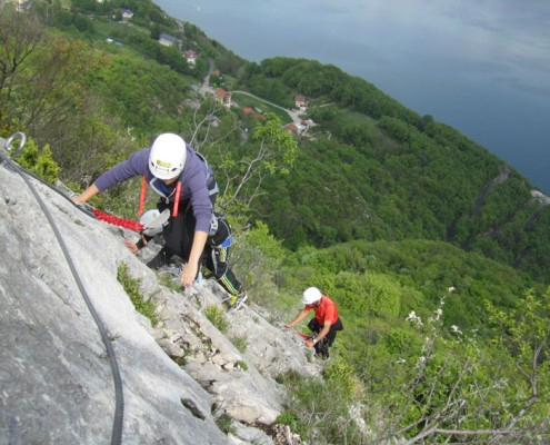 Via Ferrata Yves Degravel Organisation