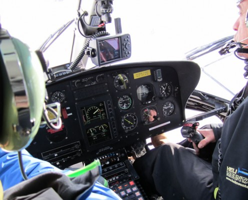 Vol panoramique en hélicoptère Yves Degravel Organisation