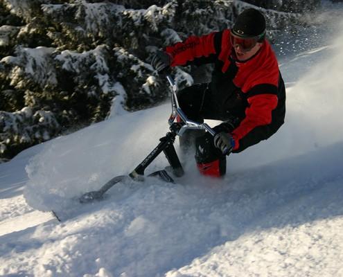 Nordic Adventure snowscoot - Yves Degravel Organisation