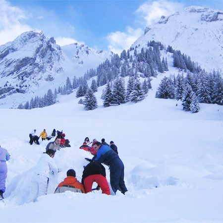 Igloo raid Baroud - Yves Degravel Organisation
